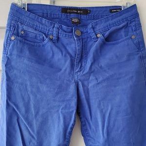 Calvin Klein Skinny Crop Bright Navy Pants